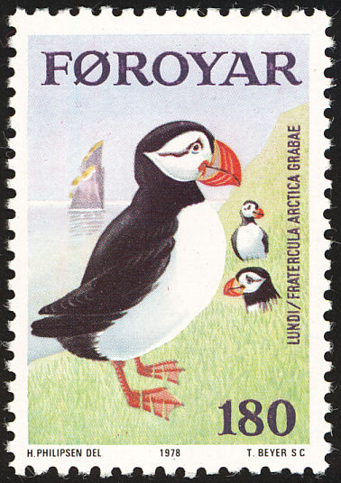 Faeroe Islands postage stamp